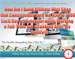 affiliate mini site secrets
