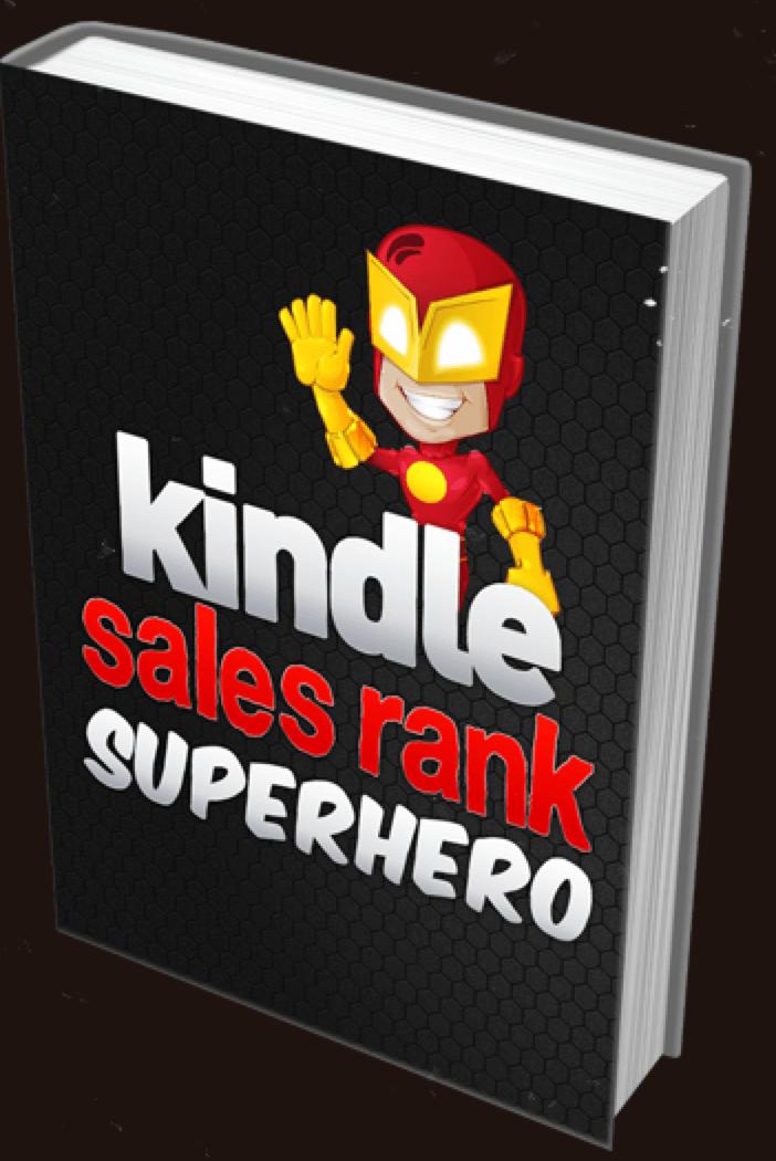 kindle sales rank superhero