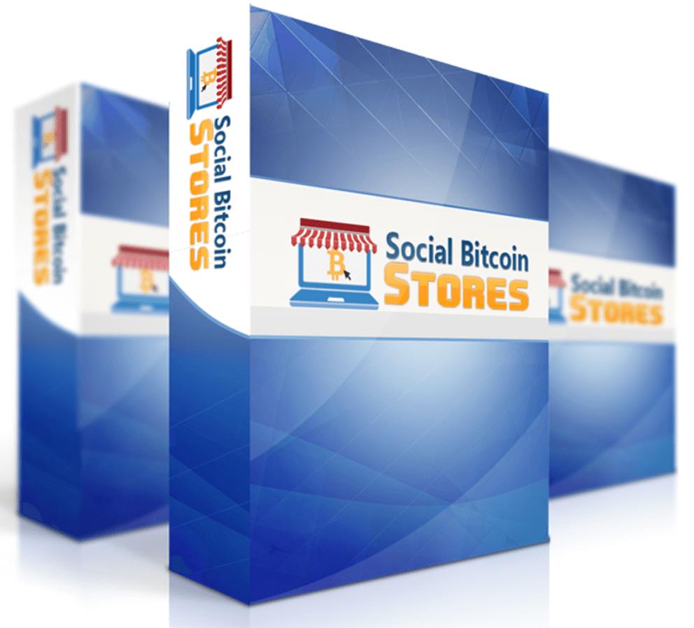 social bitcoin stores